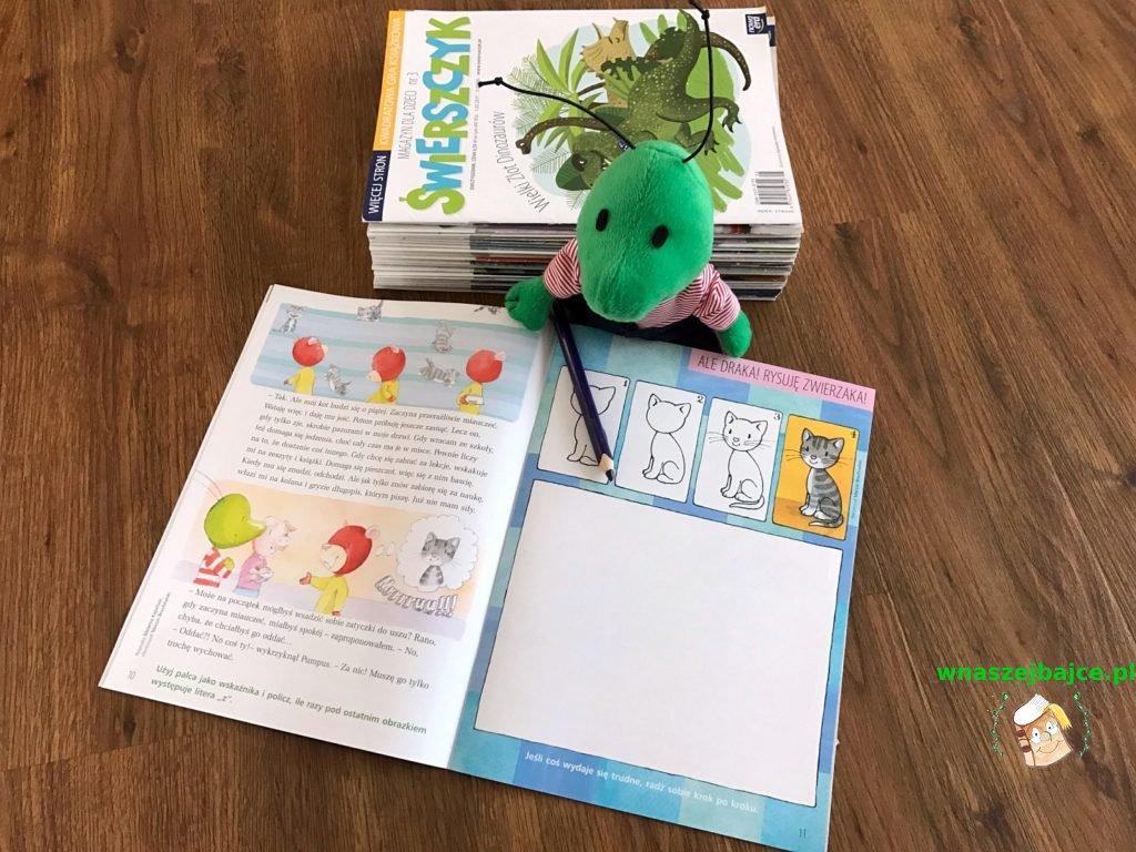 dla dzieci Świerszczyk czasopismo