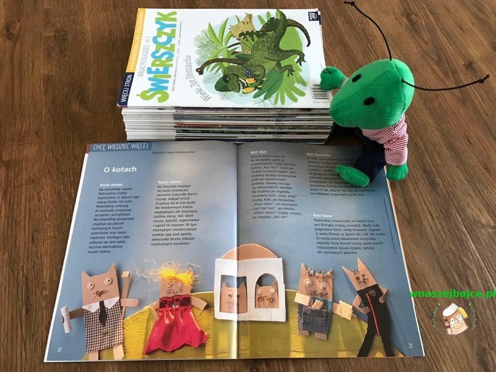 czasopismo świerszczyk dla dzieci