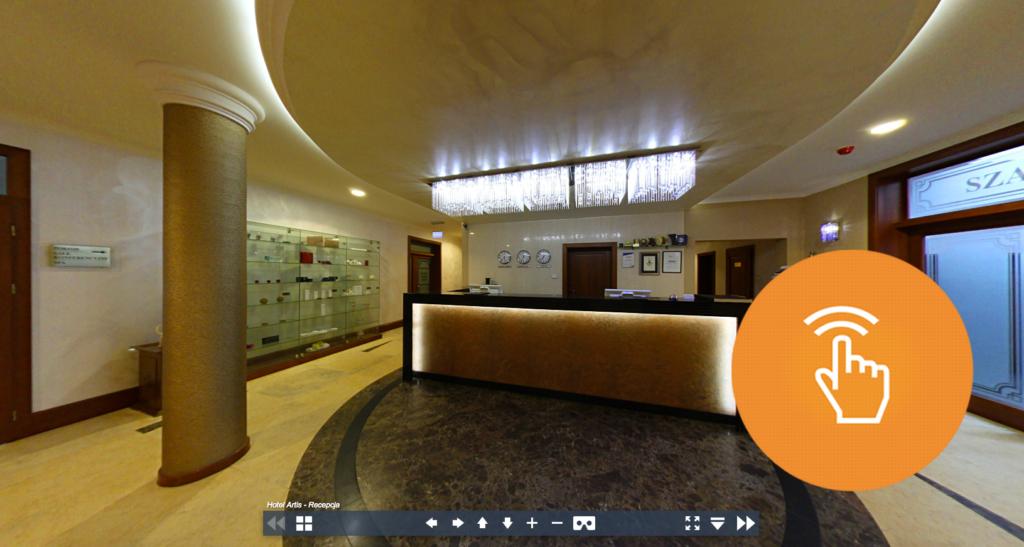 Wirtualna Wizyta - Hotel Artis