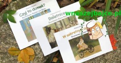 """""""Malarze dzieciom"""" – 3 kartonowe książki o znanych obrazach sławnych malarzy! – Wydawnictwo TEKTURKA"""