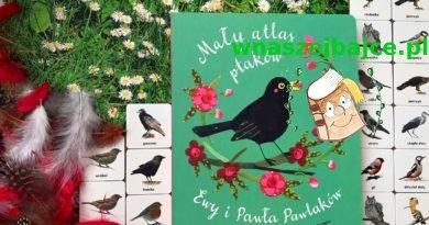 """""""Mały atlas ptaków"""" – Wydawnictwo Nasza Księgarnia"""