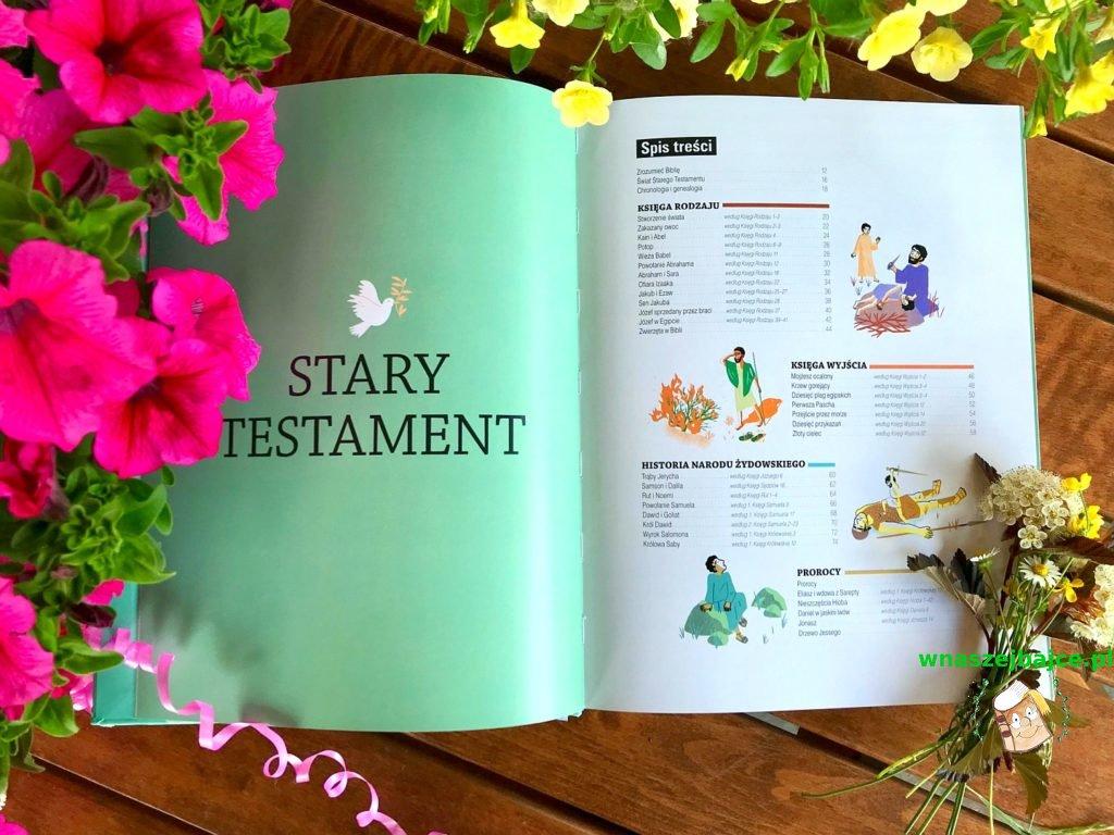 książka dla dzieci Biblia opowiedziana i objaśniona
