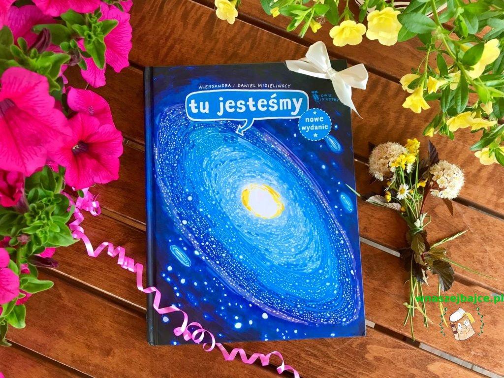 książka dla dzieci Tu jesteśmy