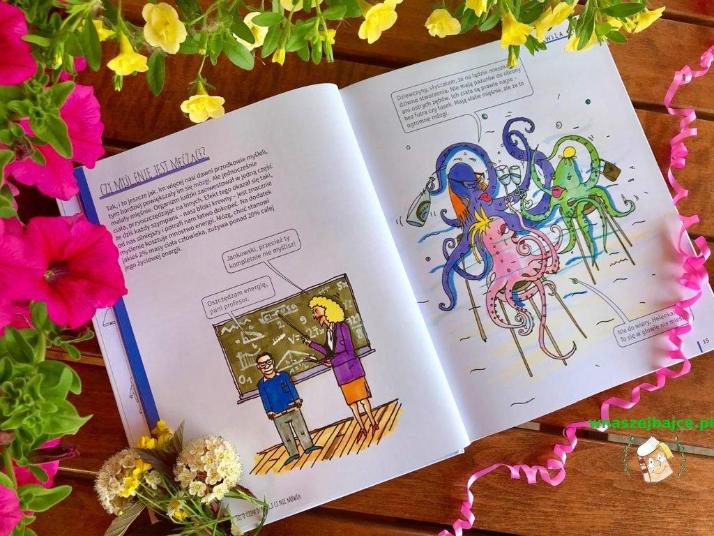 książka dla dzieci Mózg. To o czym dorośli Ci nie mówią