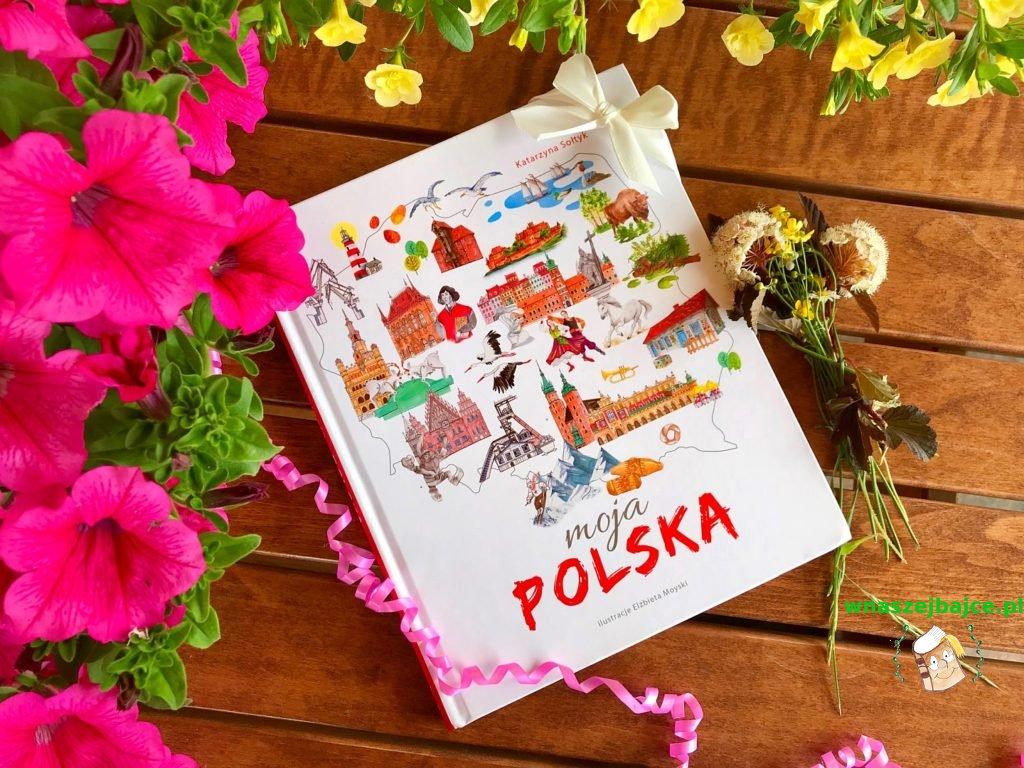 książka dla dzieci Moja Polska