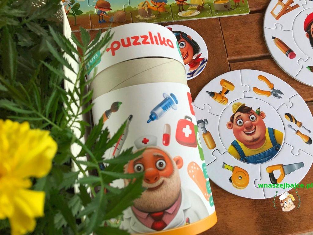 Puzzle Puzzlika okrągłe  zawody