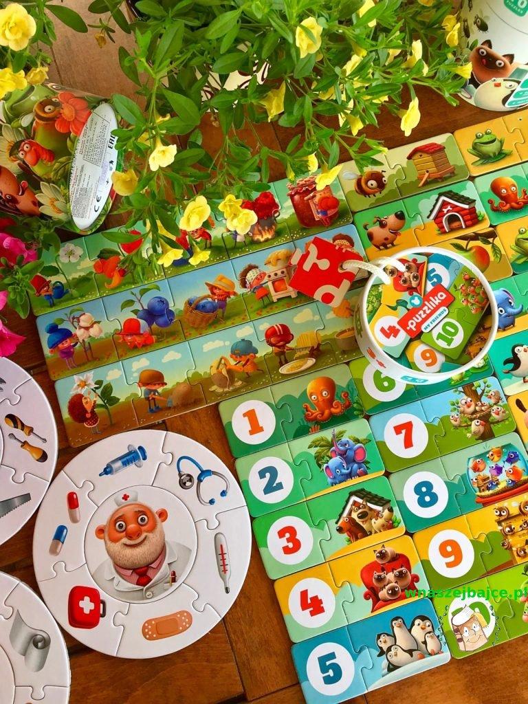 Puzzle duo Puzzlika dla dzieci
