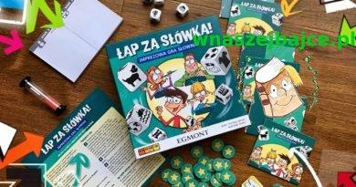 ŁAP ZA SŁÓWKA – imprezowa gra słowna – wydawnictwo EGMONT