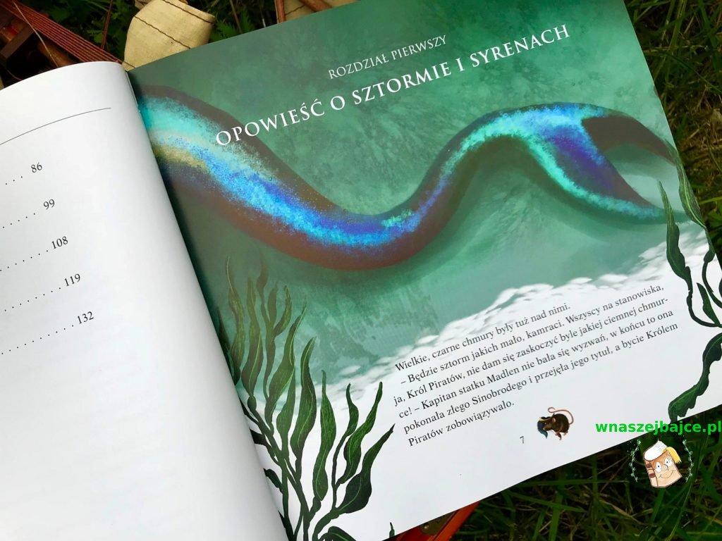 piratka książeczka dla dzieci na wakacje