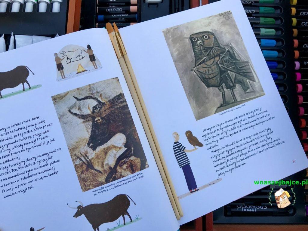 recenzja ksiazki Historia obrazów dla dzieci