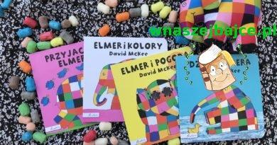 Elmer – słoń w kratkę – kartonowa seria dla najmłodszych – Wydawnictwo Papilon