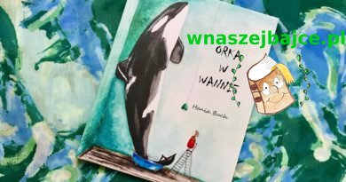Orka w wannie – Wydawnictwo NA NIBY – patronat bloga