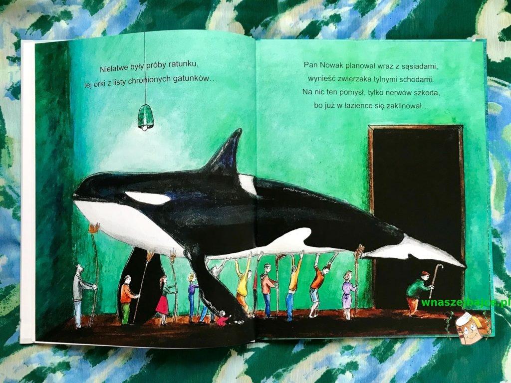 recenzja książki orka w wannie