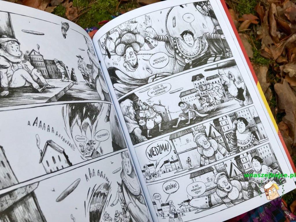 komiks dla dzieci YE
