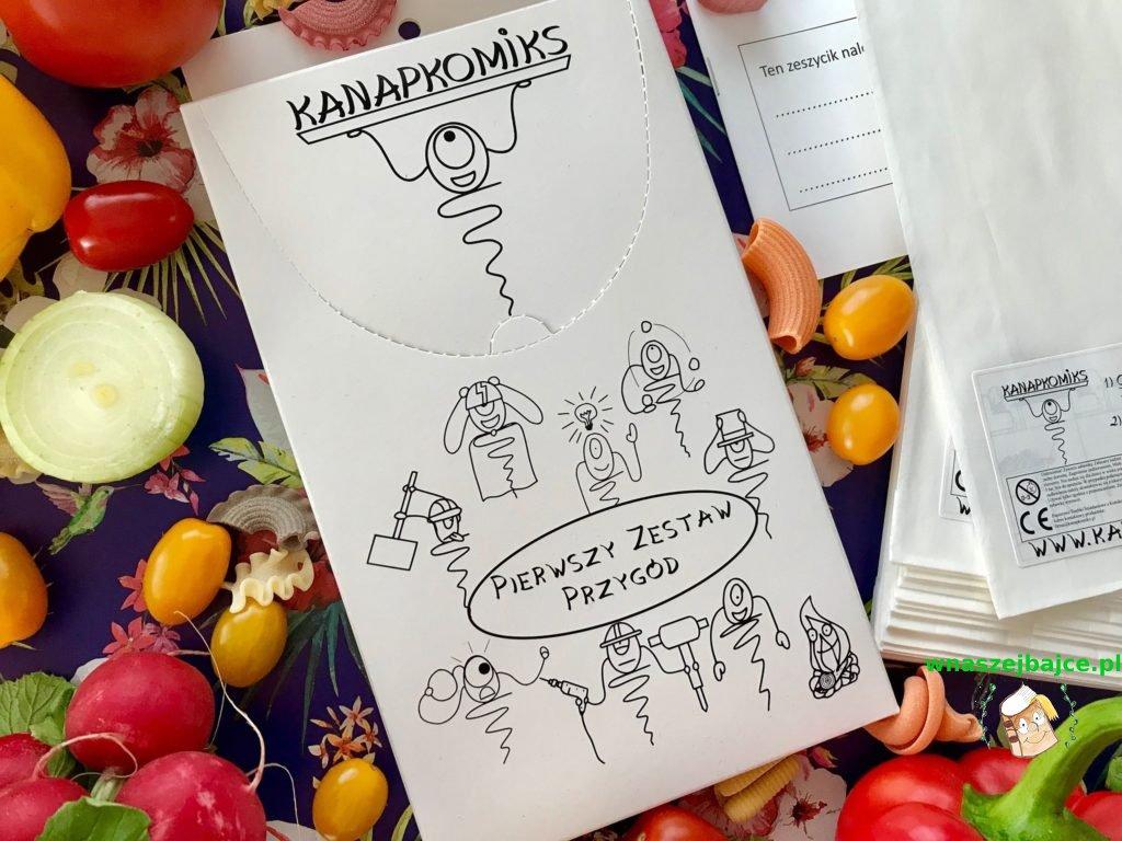 komiksowe torebki dla dzieci