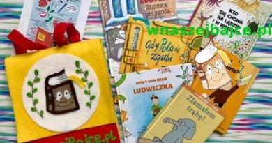 Plecak pełen książek – Przedszkolaki Czytają