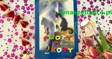 Cztery psoty na dwa koty – Bożena Czarnota