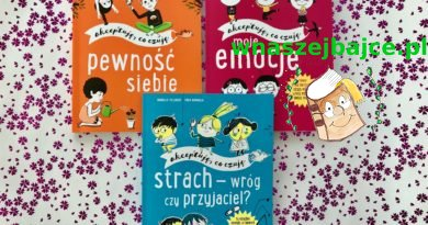 Akceptuję, co czuję – EMOCJE, STRACH, PEWNOŚĆ SIEBIE – seria książek dla dzieci i rodziców – Wydawnictwo EGMONT