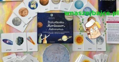 Biblioteczka Montessori – ASTRONOMIA – Wydawnictwo EGMONT
