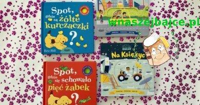 Kartonowe książki z ruchomymi elementami dla maluchów – Wydawnictwo MAMANIA
