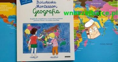 Biblioteczka Montessori – Geografia – Wydawnictwo EGMONT