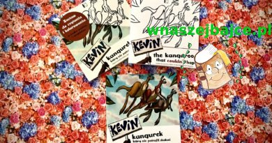 Kevin Kangurek, który nie potrafił skakać – Wydawnictwo KROPLA – książki dwujęzyczne!