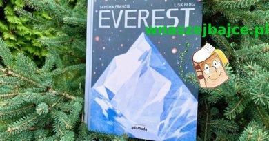 EVEREST – zachwycająca opowieść o górach!  Wydawnictwo ADAMADA – patronat bloga