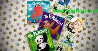 To panda! To ośmiornica! To leniwiec! – kartonowe nowości od wydawnictwa ZIELONA SOWA