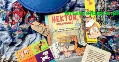 """""""Hektor, psia opowieść"""" – książka dla dzieci o psich emocjach z II wojną światową w tle."""