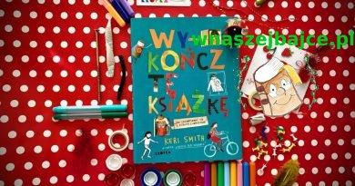 Wykończ tę książkę – Wydawnictwo KROPKA