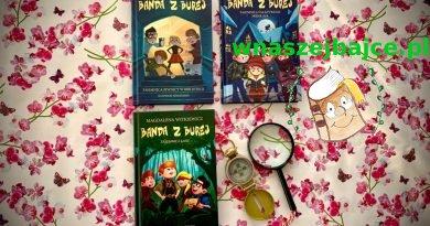 """Seria książek """"Banda z Burej"""" – Wydawnictwo SKARPA WARSZAWSKA"""