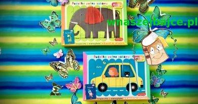 Akademia Mądrego Dziecka – Pudełko pełne zabawy: zwierzęta i pojazdy – Wydawnictwo HarperKIDS