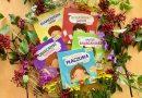 """Seria """"Dzieciaki kłopociaki"""" – kartonowe książki dla najmłodszych – Wydawnictwo PRYZMAT"""