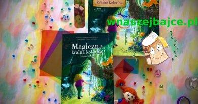 Magiczna kraina kolorów – niezwykła książka z okienkami + GRA planszowa